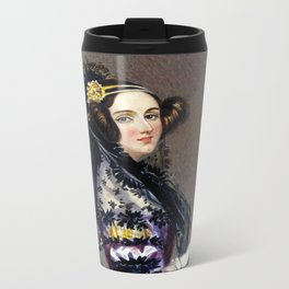 Portrait of Ada Lovelace by Alfred Edward Chalon Travel Mug