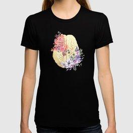 Floral Brain Anatomy  T-shirt