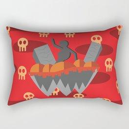 dead ruins Rectangular Pillow