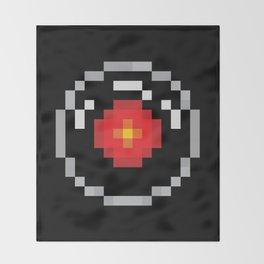 2001: A Pixel Odyssey Throw Blanket