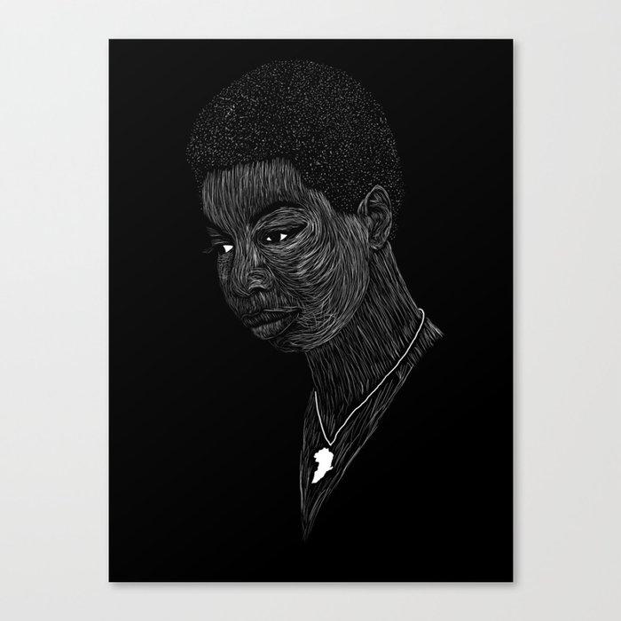 Nina Simone Canvas Print