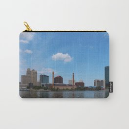 Toledo Skyline in the Spring I Carry-All Pouch