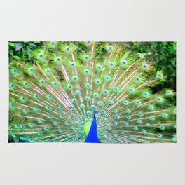Peacock Feathers | Bird | Birds | Nadia Bonello | Canada Rug