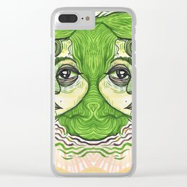 visceral vibrations Clear iPhone Case
