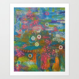 Deep & Beyond Art Print