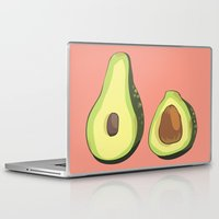 musa Laptop & iPad Skins featuring do u like avocados by musa