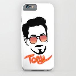 Tony Stark (Graphic) iPhone Case