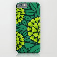 Spring Green Floral pattern Slim Case iPhone 6s