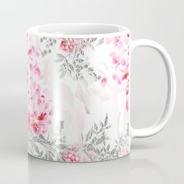 PINK ORCHIDS IN SPRING BLOOM Coffee Mug