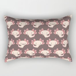Cute axolotls Rectangular Pillow