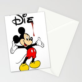 The Poorly Mouse Stationery Cards