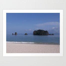 On the Beach - Langkawi, Malaysia Art Print