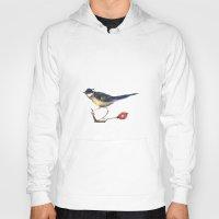 birdy Hoodies featuring Birdy by Ivanushka Tzepesh