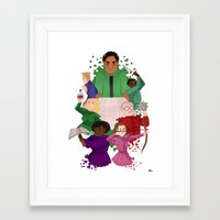 community Framed Art Prints featuring Community by Twylluan