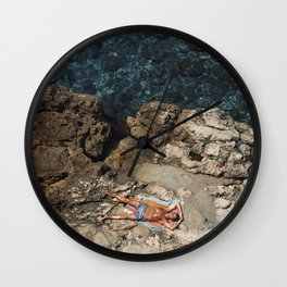 Mel Gibson On Vacation Wall Clock