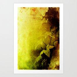 Secret Ivy Art Print