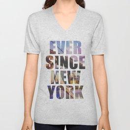 EVER SINCE NEW YORK Unisex V-Neck