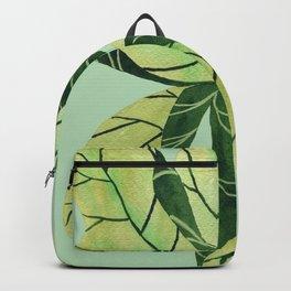 Leaf flower Backpack