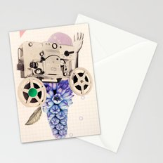 hazy pellicle Stationery Cards