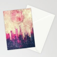 Mysterious city Stationery Cards
