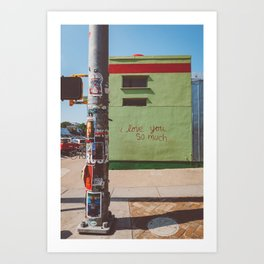 I Love You So Much Austin Art Print