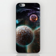 Deep Space Flare iPhone & iPod Skin