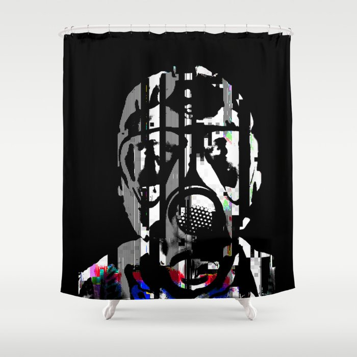 fumes of decay Shower Curtain