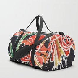 Tiger Lily Duffle Bag