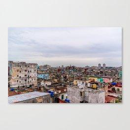 Ciudad de La Habana Canvas Print
