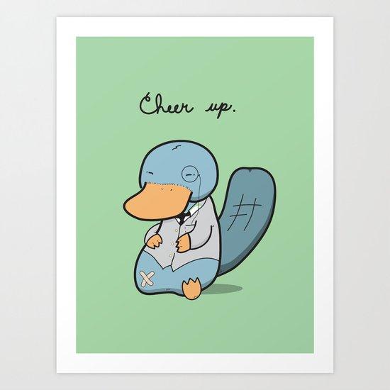 Cheer Up! Art Print
