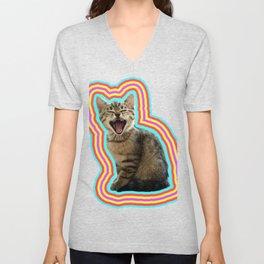 That Kitten Friday Feeling Unisex V-Neck