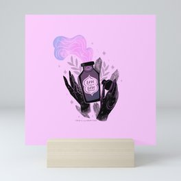 """""""Love is Love Potion"""" inspired by The L Word Mini Art Print"""