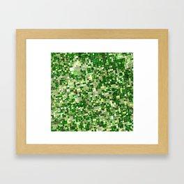 Kansas Crops Framed Art Print