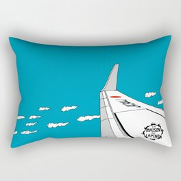 Airplane Wing Rectangular Pillow