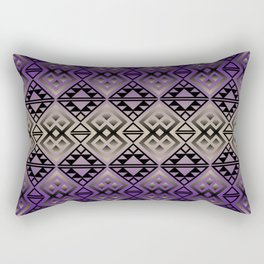 The Lodge (Purple) Rectangular Pillow