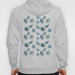 Flock of Birds - Blue Hoody
