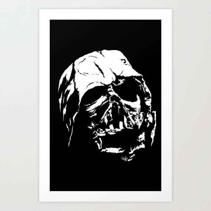 The Dark Side Art Print