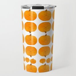 Pumpkin Pattern | Rustic Travel Mug