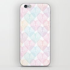 Patterns Of My Heart iPhone Skin