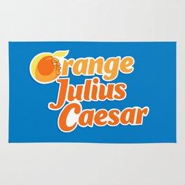 Orange Julius Caesar Rug