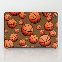 basketball iPad Cases featuring Basketball by joanfriends