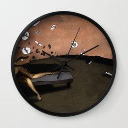 SUNRISE WITH BROKEN PLATES (2004 version) Wall Clock