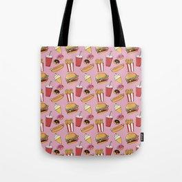 Fast-Food (pink) Tote Bag