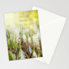 See the Light Stationery Cards