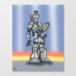 Robot Series - Assassin Model Canvas Print