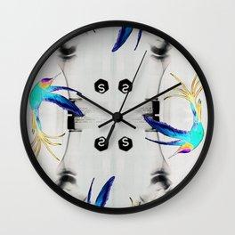 Dancing on the bones Wall Clock