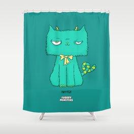 Furrrycat Shower Curtain