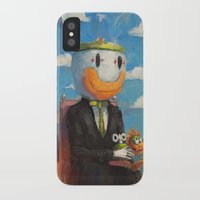 mario iPhone & iPod Cases featuring Mario by Ronan Lynam