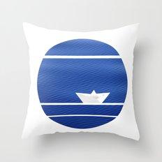 Origami-nimal Throw Pillow