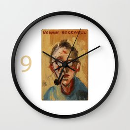 50 Artists: Norman Rockwell Wall Clock